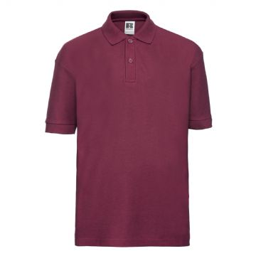 CANISBAY  PRIMARY SCHOOL BURGUNDY POLO SHIRT WITH LOGO